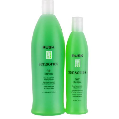 Rusk Full Green Tea & Alfalfa Shampoo