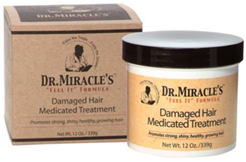 Dr. Miracle's Damaged Hair Medicated Treatment