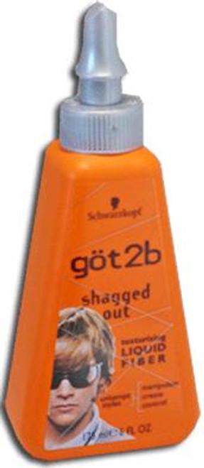 Got2B Shagged Out Texturizing Hair Styling Liquid Fiber