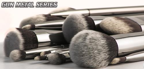 Morphe Brushes Gun Metal Series