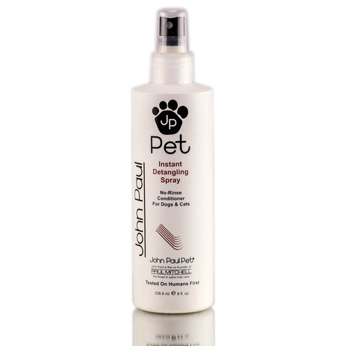 John Paul Pet Instant Detangling Spray - No Rinse Grooming Aid