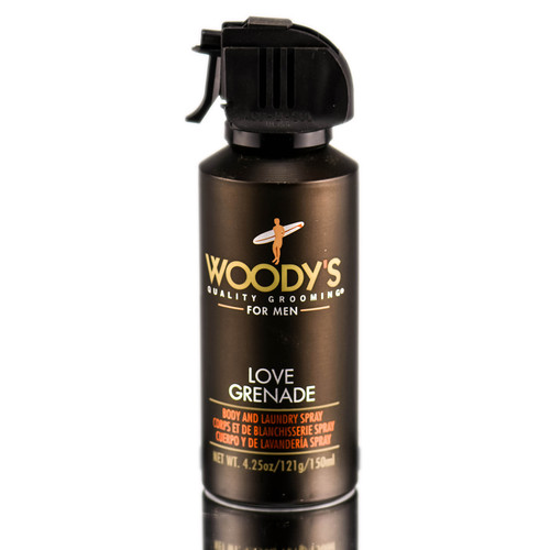 For Him: Woody's Love Grenade Body & Laundry Deo Spray