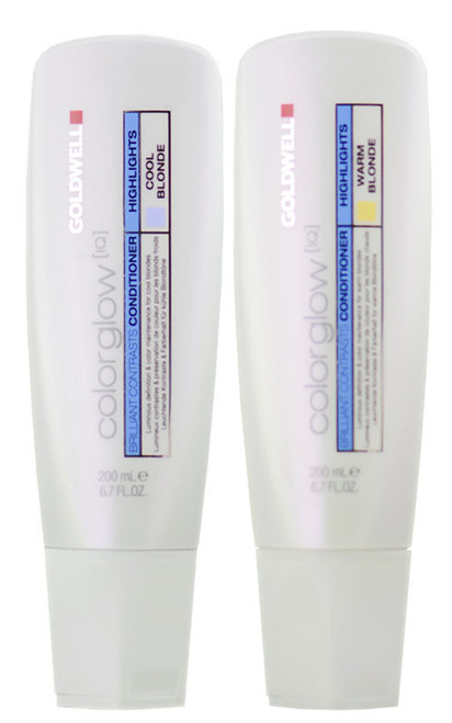 Goldwell Colorglow IQ Brilliant Contrasts Conditioner - Highlights