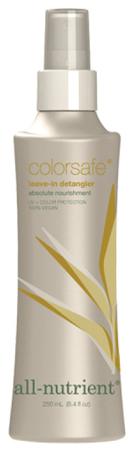 All - Nutrient Colorsafe Leave-In Detangler, UV+ Color Protection, 100% Vegan