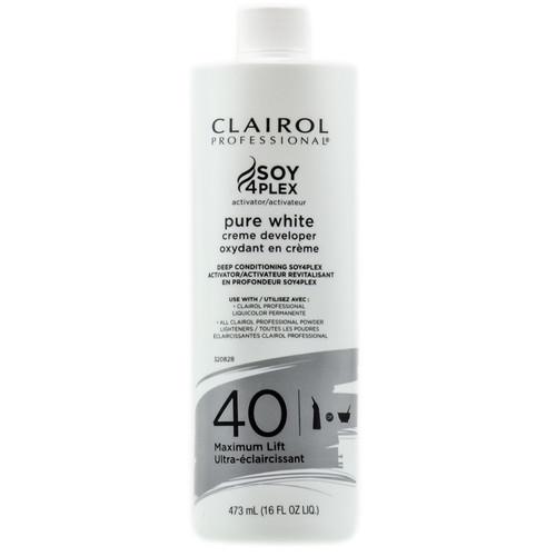 Clairol Professional Pure White Creme Developer - Maximum Lift