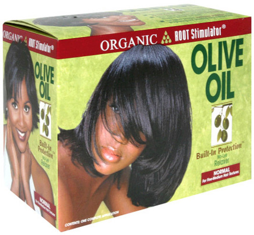 Organic Root Stimulator Olive Oil No-Lye Relaxer - Normal Hair