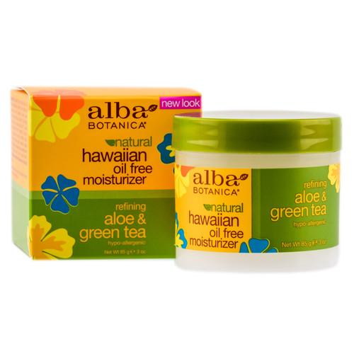 Alba Botanica Hawaiian Oil Free Moisturizer Refining - Aloe Green Tea