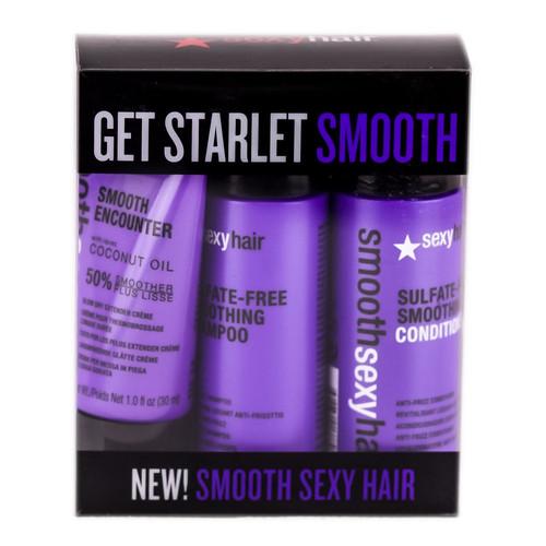 Sexy Hair Smooth Sexy Hair Mini Trial Kit