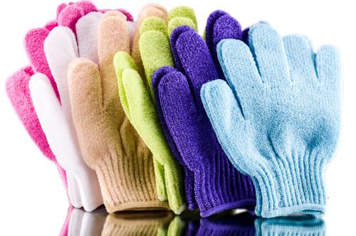 Spa Sister: Spa Sister Exfoliating Bathing Gloves
