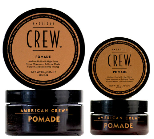 American Crew Pomade - medium hold with high shine