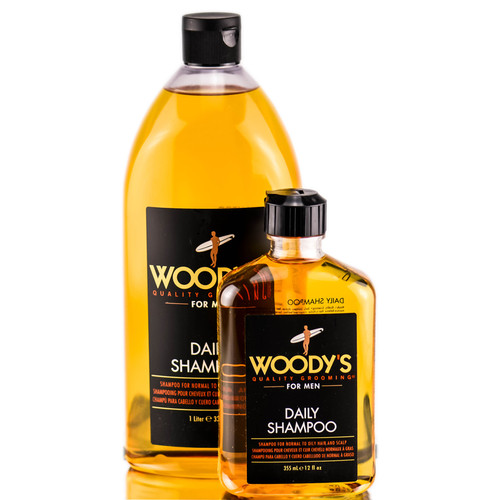 Woody's Quality Grooming Daily Shampoo - For Men