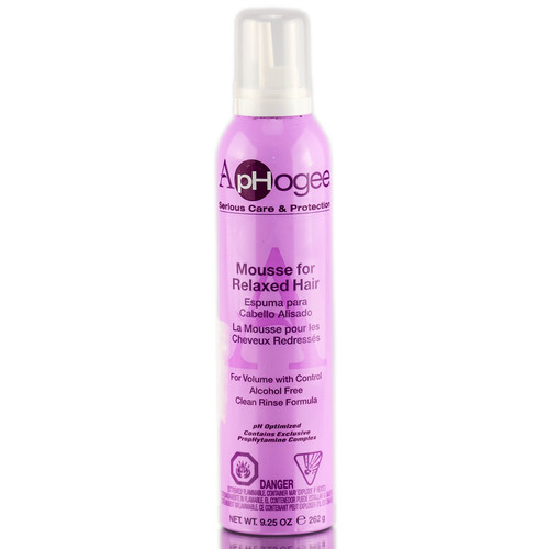 Aphogee Styling Mousse for Relaxed Hair