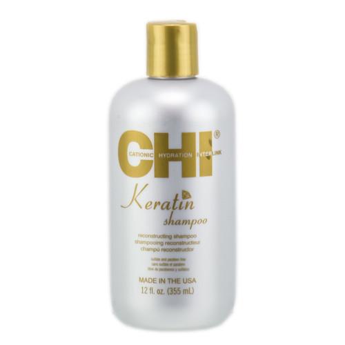 CHI Keratin Reconstructing Shampoo - hair cleanser