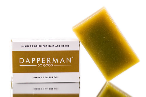 Dapperman Organic Shampoo Brick for Head & Beard