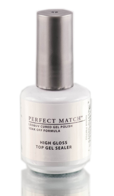 Gel Polish: Lechat Perfect Match High Gloss Top Gel Sealer