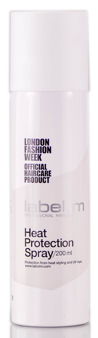 Label. M Heat Protection Spray