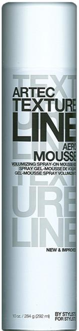 Artec Texture Line Aero Mousse - volumizing spray-on mousse-gel