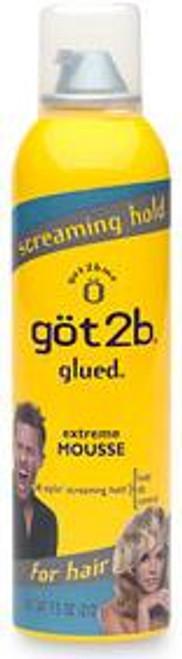 got2b Glued Extreme Mousse