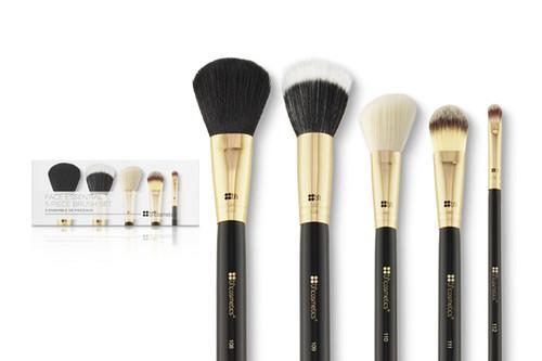 BH Cosmetics Face Essential 5 pc Brush Set
