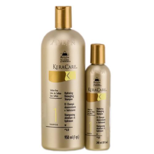 Avlon KeraCare Hydrating Detangling Shampoo (Sulfate-Free Formula)