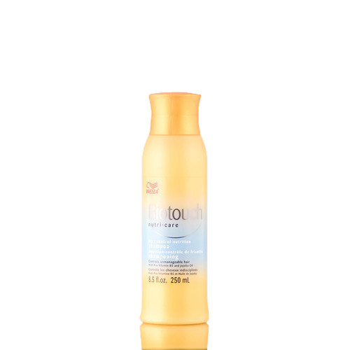 Wella Biotouch Frizz Control Nutrition Shampoo for Unmanageable Hair