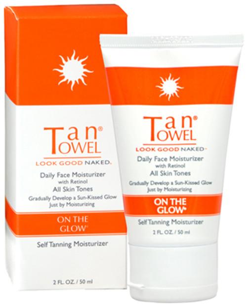 TanTowel On The Glow - Daily Face Moisturizer with retinol (regular)
