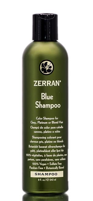 Zerran Blue Shampoo - for Brassy, Grey or Platinum Hair