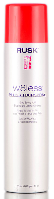 Rusk W8less Plus - Extra Strong Hold Shaping & Control Hairspray