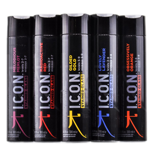 Icon Stained Glass Semi-Permanent Hair Color