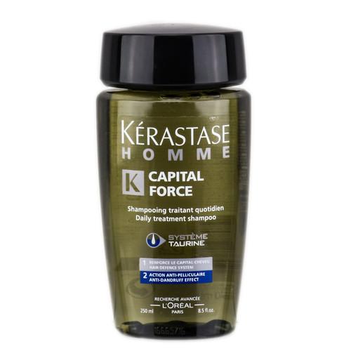 Kerastase Homme Capital Force Daily Treatment Shampoo - Anti-Dandruff Effect