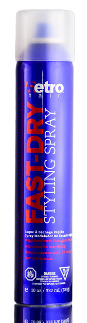 Retro Hair Fast Dry Styling Hair Spray