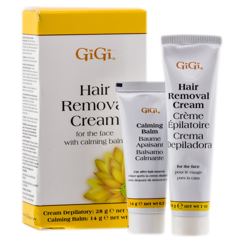 Gigi Hair Removal Cream For The Face Kit Sleekshop Com 2 Piece