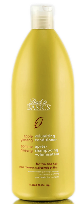 Back to Basics Apple Ginseng Volumizing Conditioner