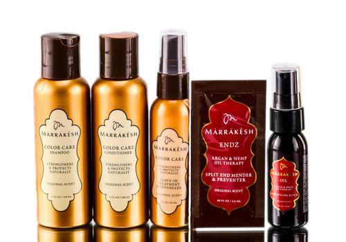 Earthly Body Marrakesh Color Care Travel Gift Set
