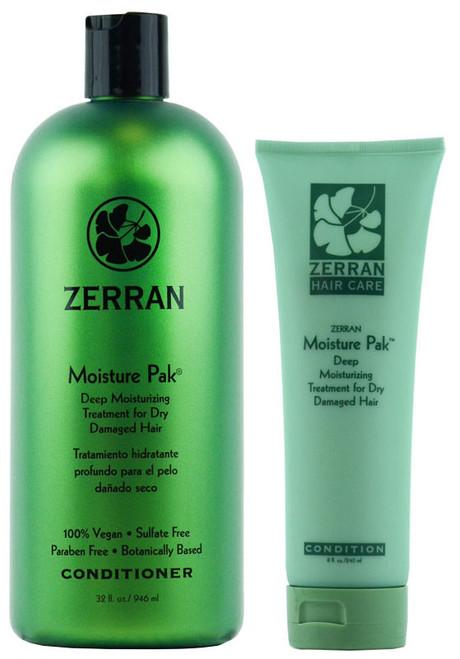 Zerran Moisture Pak - Deep Moisturizing Treatment for Dry Damaged Hair