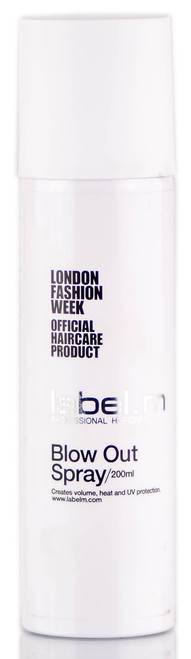 Label. M Blow Out Spray