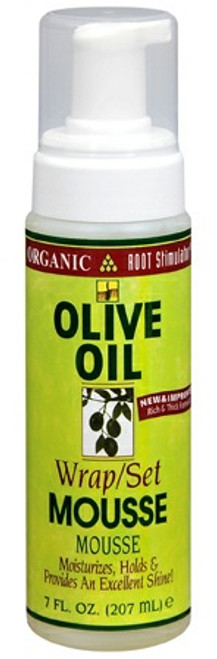 Organic Root Stimulator Olive Oil Wrap Set Mousse