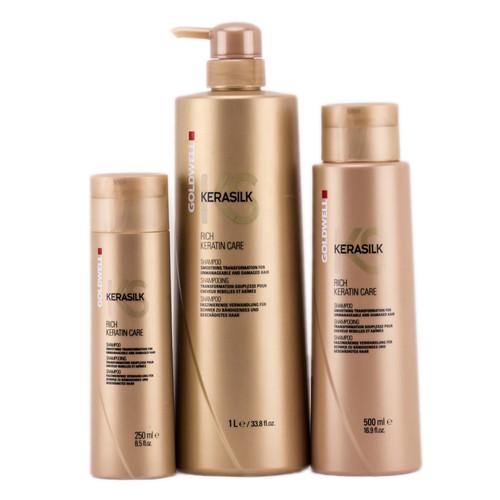 Goldwell Kerasilk Rich Keratin Care Shampoo