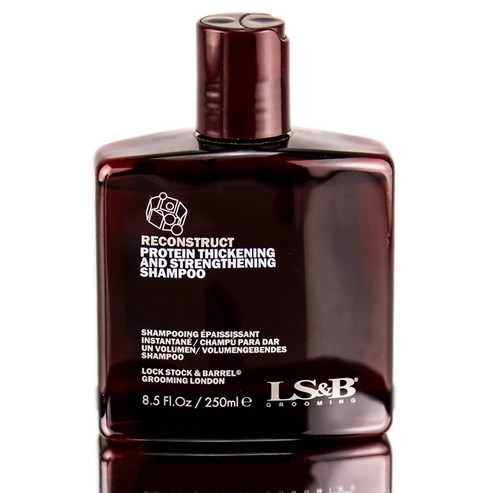Lock Stock and Barrel LS&B Reconstruct Protein Thickening and Strengthening Shampoo