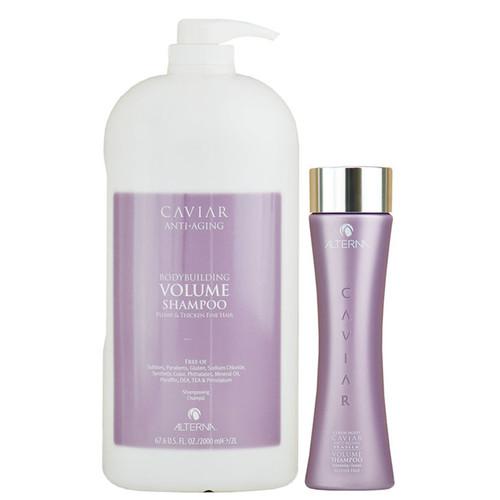 Alterna Caviar Anti-Aging Bodybuilding Volume Shampoo - Sulfate-Free