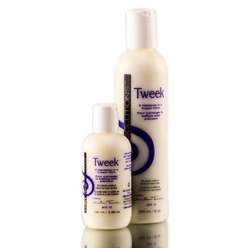 Curly Hair Solutions Tweek Hairspray in a Cream Form