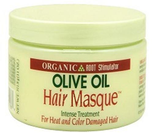 Organic Root Stimulator Olive Oil Hair Masque