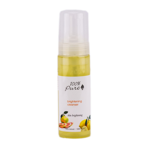 100% Pure Skin Brightening Facial Cleanser