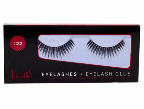 J Cat Eyelashes & Eyelash Glue