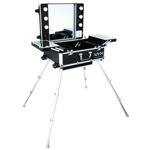NYX X-Large Makeup Artist Train Case with Lights