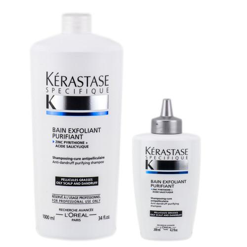 Kerastase Specifique Bain Exfoliant Purifiant Anti-Dandruff Purifying Shampoo