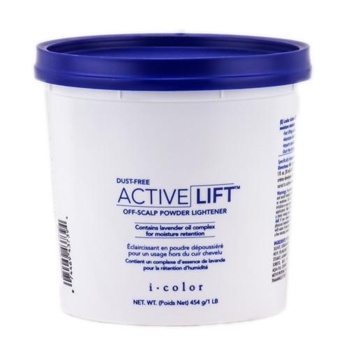 Iso I Color Dust Free Active Lift Off Scalp Powder Lightener