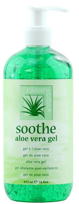 Clean+ Easy Soothe Aloe Vera Gel