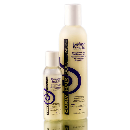 Curly Hair Solutions Remane Straight
