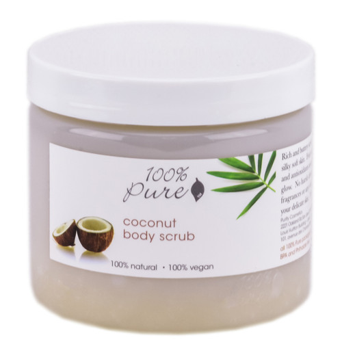 100% Pure Coconut Body Scrub